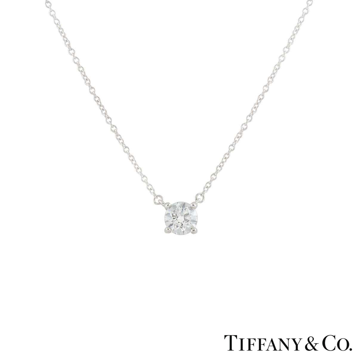 Tiffany & Co. Diamond Pendant XXX 0.61ct J/VS1